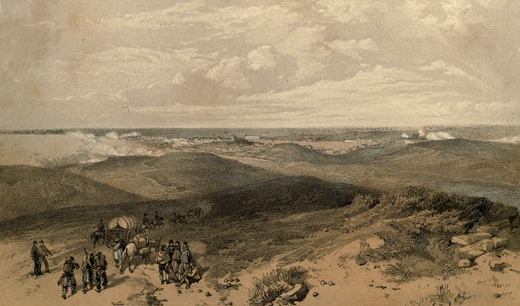 The Campaign in the Crimea [Series I] - Sebastopol from the Rear of the English Batteries (1855)