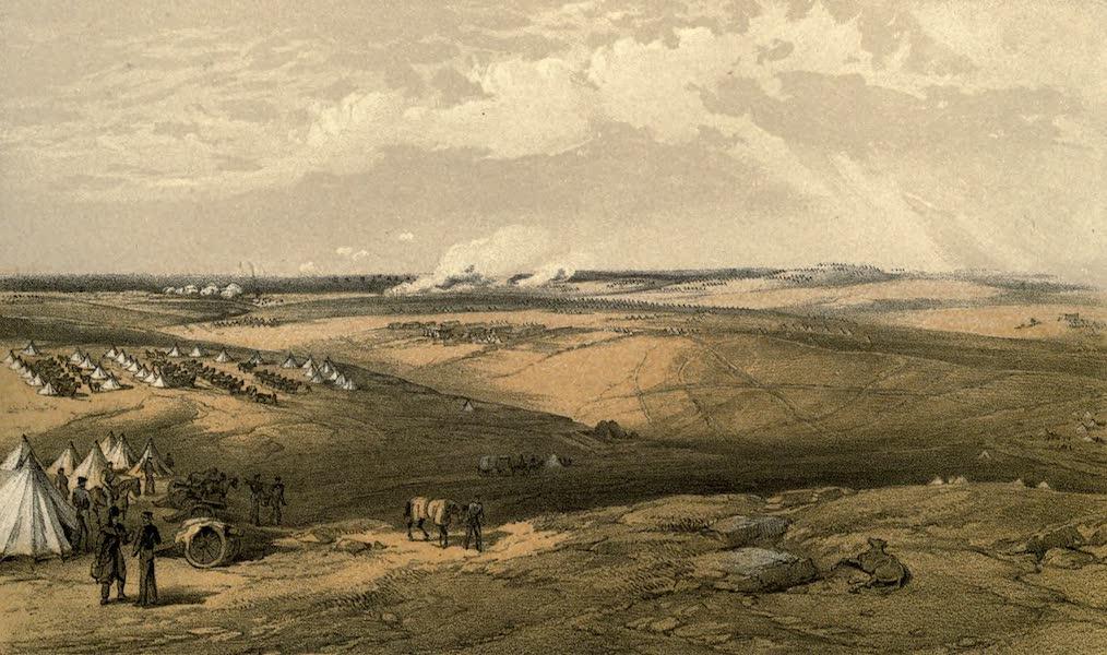 The Campaign in the Crimea [Series I] - Distant View of Lord Raglan's Head-Quarters before Sebastopol (1855)