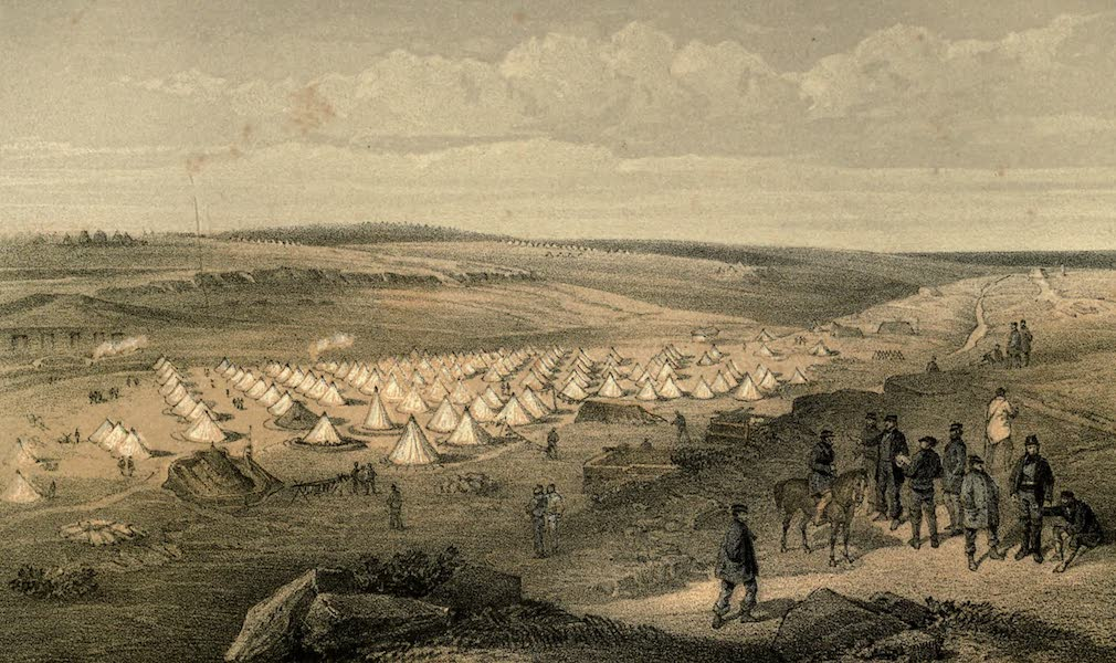 Camp of the Naval Brigade before Sebastopol