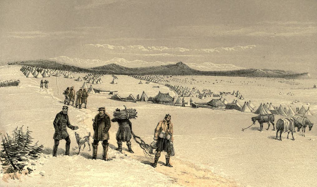 The Campaign in the Crimea [Series I] - The Camp of the Second Division, looking East. January,1855 (1855)