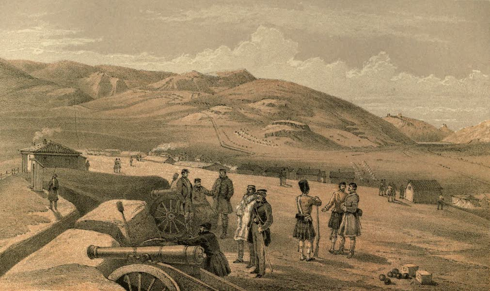 Highland Brigade Camp, looking South