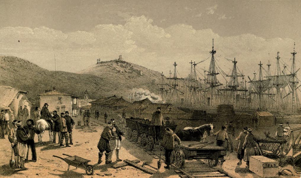 The Campaign in the Crimea [Series I] - The Railway at Balaklava (1855)