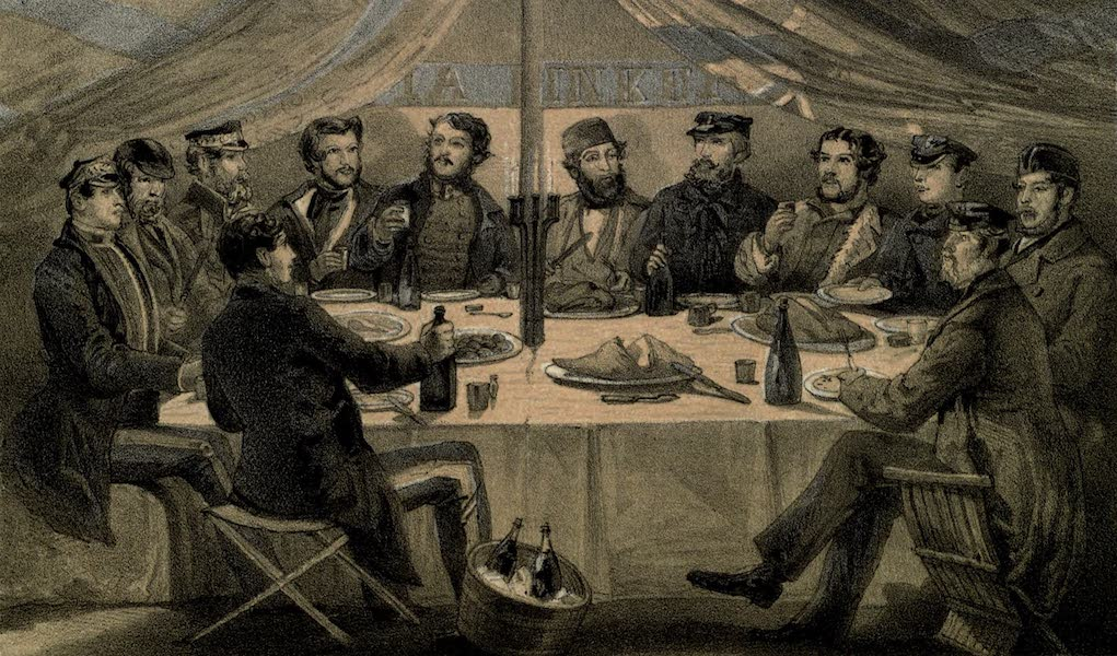 The Campaign in the Crimea [Series I] - A Christmas Dinner on the Heights before Sebastopol (1855)