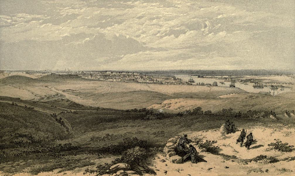 Sebastopol from the East, or Extreme Right of English Attack