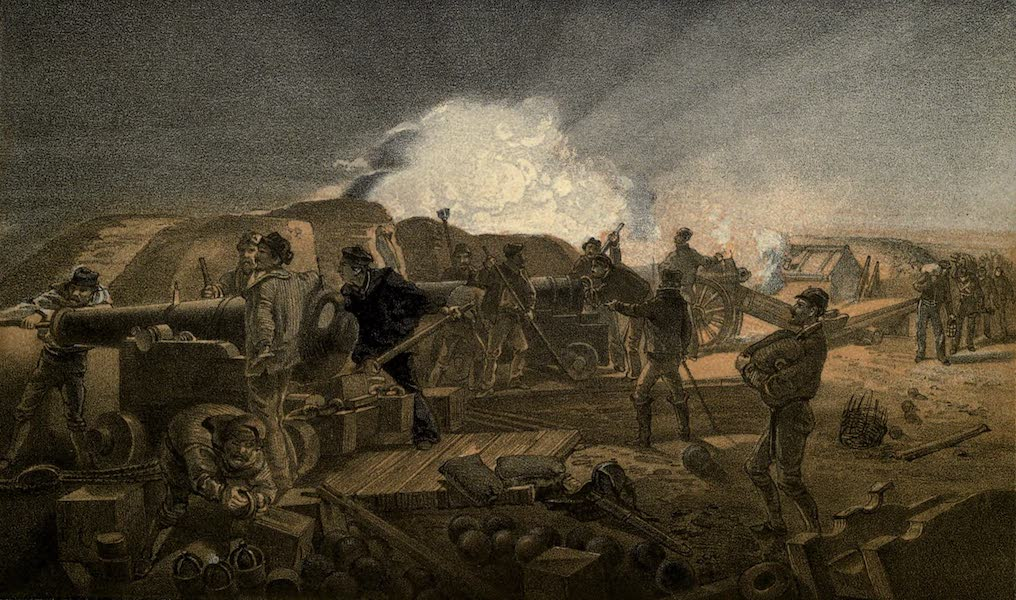The Campaign in the Crimea [Series I] - A Hot Night in the Batteries (1855)