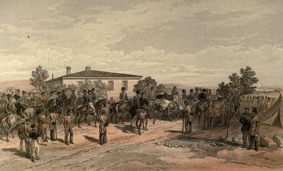 Funeral Cortege of Lord Raglan leaving Head-Quarters