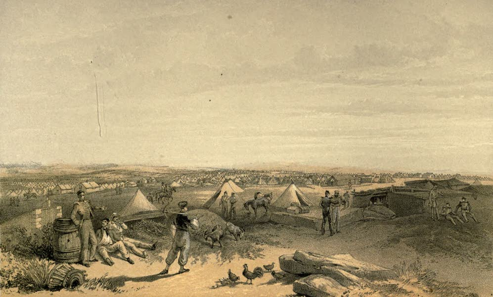 Camp of the Fourth Division, July 15th, 1855