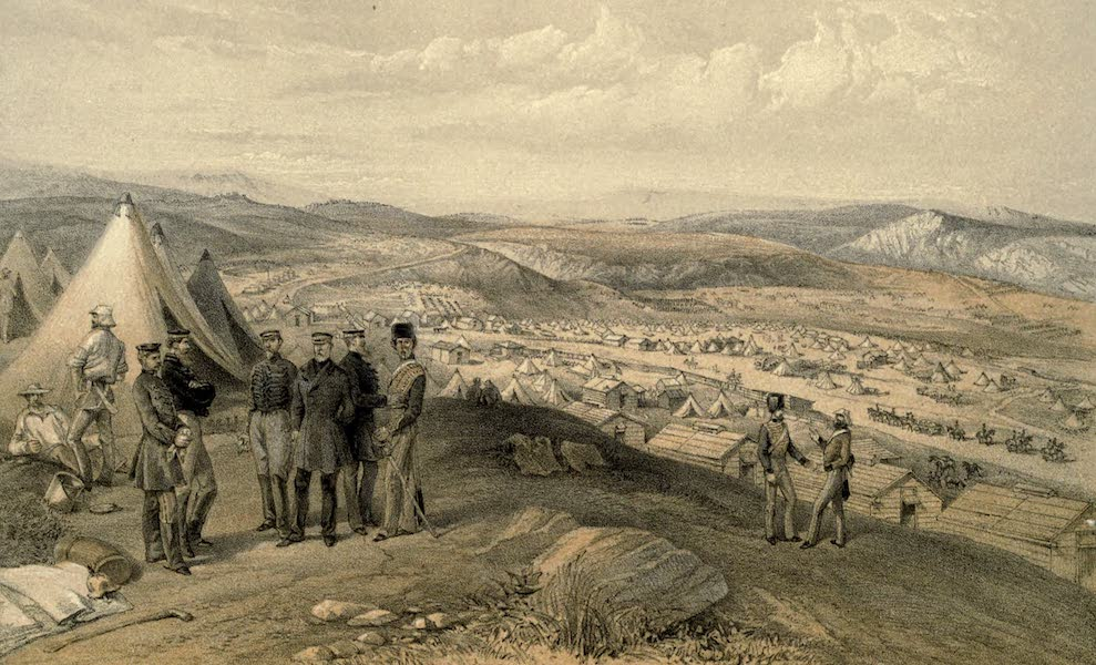 Cavalry Camp, July 9th, 1855