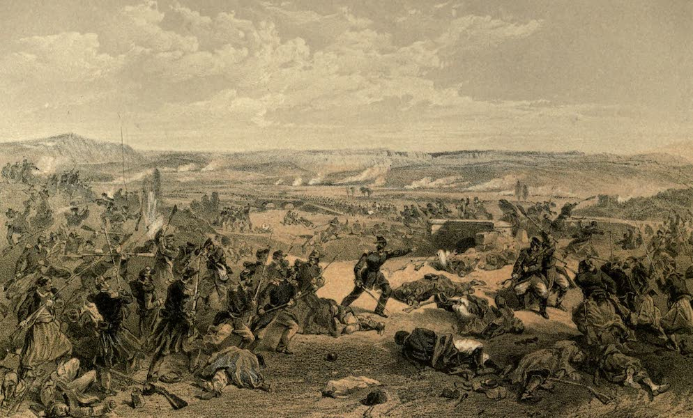 Battle of the Tchernaya, 16th August, 1855