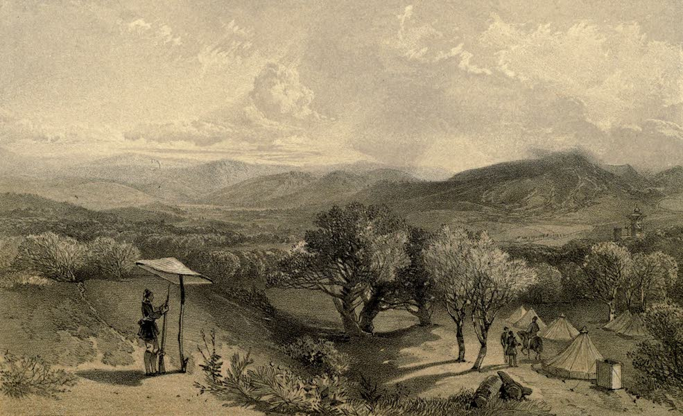 The Valley of Baidar, from near Petroski's Villa, looking East