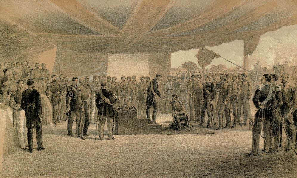 The Investiture of the Order of the Bath, at the Head-Quarters of the British Army before Sebastopol
