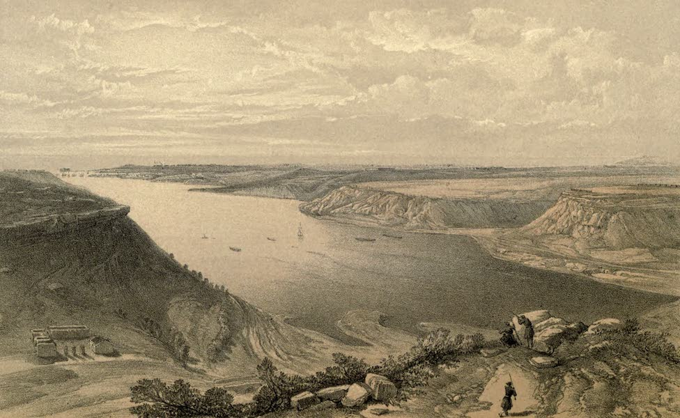 The North Side of the Harbour of Sebastopol, from the top of the Harbour, 22nd June, 1855