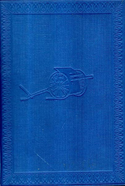 The Canadian Front in France and Flanders - Front Cover (1920)