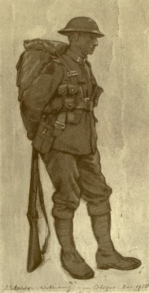 The Canadian Front in France and Flanders - &34;Sober he seemed, and sad of cheer ...&34; (1920)