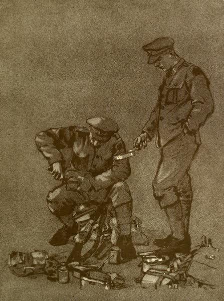 The Canadian Front in France and Flanders - Rations (1920)