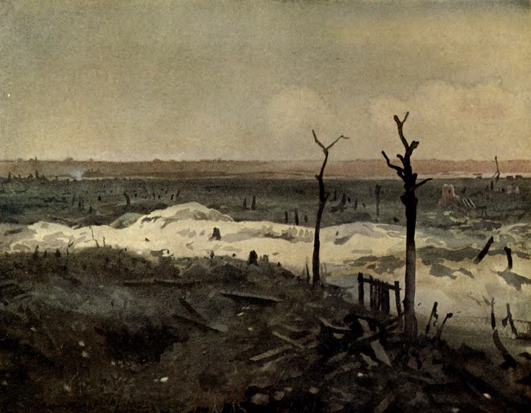The Canadian Front in France and Flanders - Aconite Trench, Lens (1920)