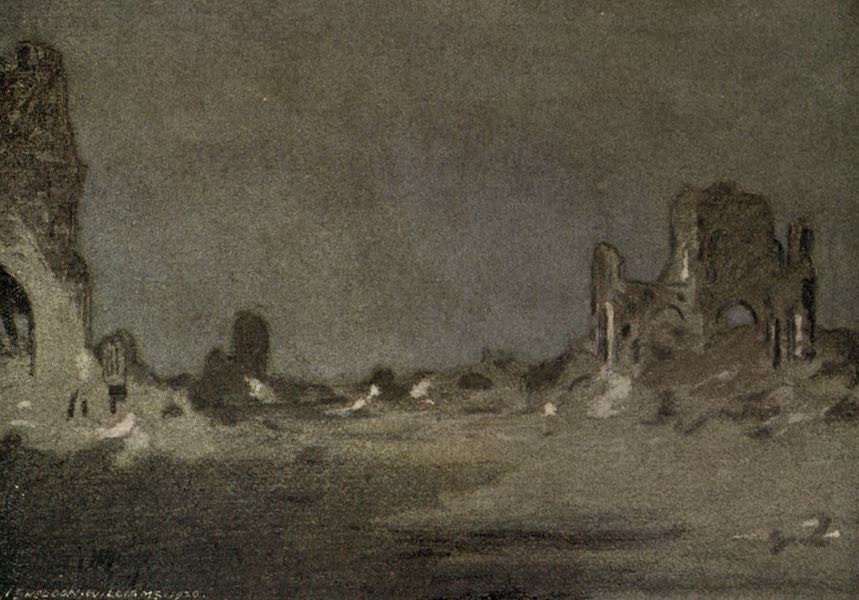 The Canadian Front in France and Flanders - Moonlight in Ypres (1920)