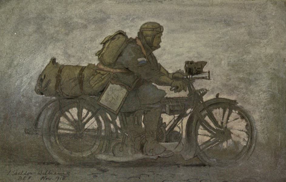 The Canadian Front in France and Flanders - The &34;Don Ar&34; (Despatch-Rider) (1920)