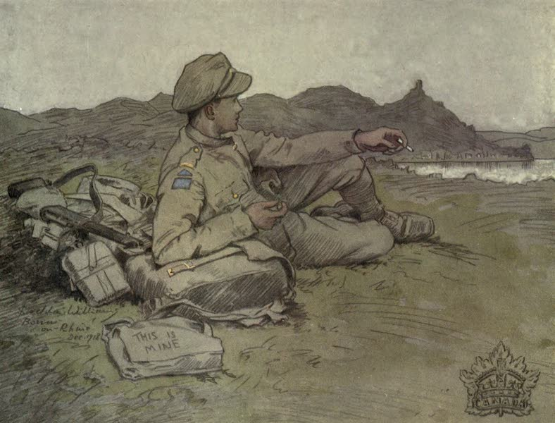 The Canadian Front in France and Flanders - &34;On the Rhine&34; We reached our Objective (1920)