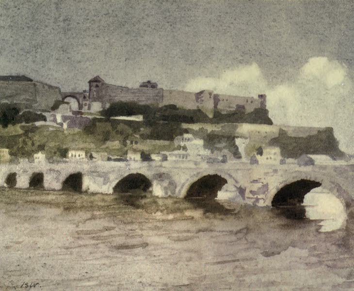 The Canadian Front in France and Flanders - Citadel and Pont des Jambes, Namur (1920)