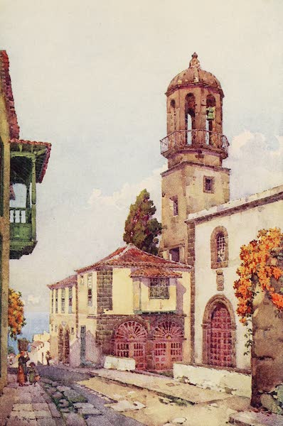 The Canary Islands, Painted and Described - San Domingo, Villa Orotava (1911)