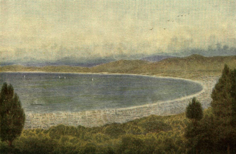 The Cape Peninsula: Pen and Colour Sketches - Table Bay from the Kloof Nek (1910)