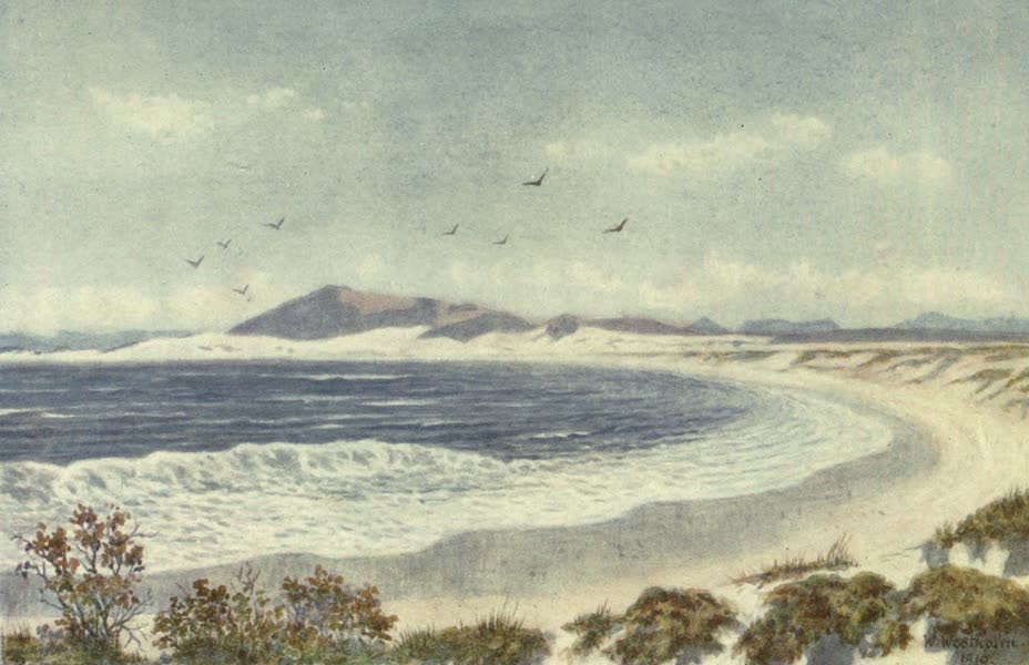 The Cape Peninsula: Pen and Colour Sketches - Blaauwberg and Head of Table Bay (1910)