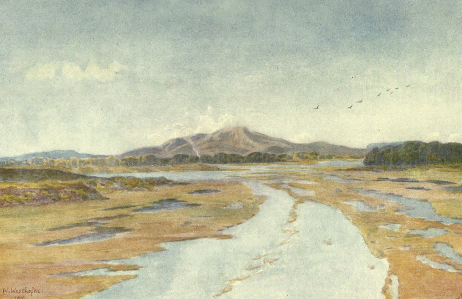 The Cape Peninsula: Pen and Colour Sketches - Tigerberg and Diep River (1910)