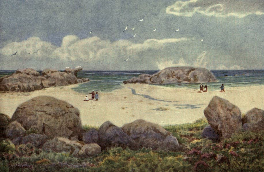 The Cape Peninsula: Pen and Colour Sketches - Camps Bay, on the Victoria Road (1910)