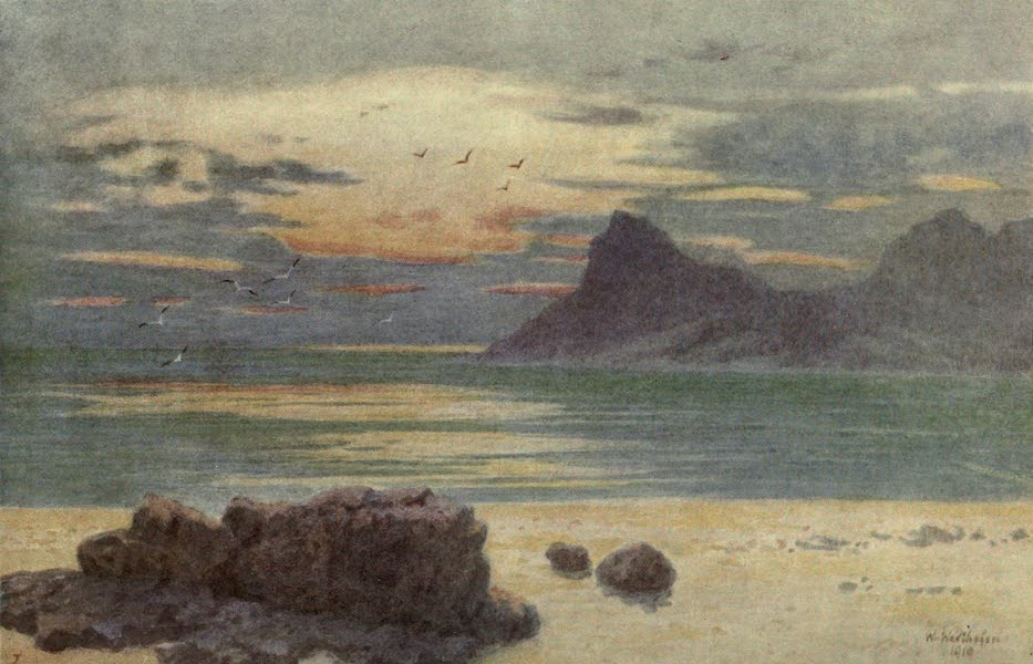 The Cape Peninsula: Pen and Colour Sketches - Hout Bay and Hangberg (1910)