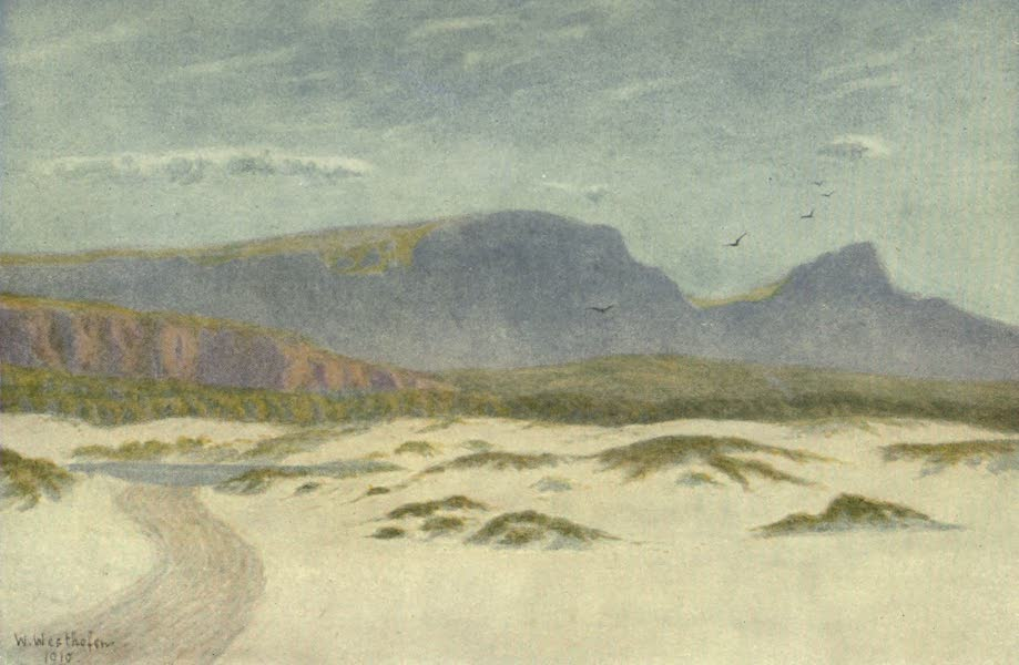 The Cape Peninsula: Pen and Colour Sketches - Sand Dunes (1910)