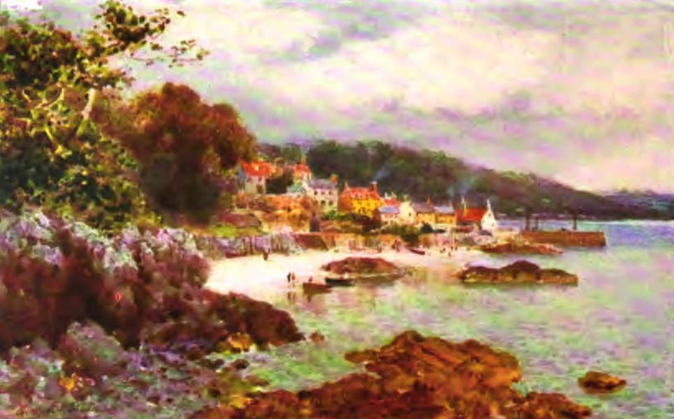 The Channel Islands Painted and Described - St. Aubin, Jersey (1904)