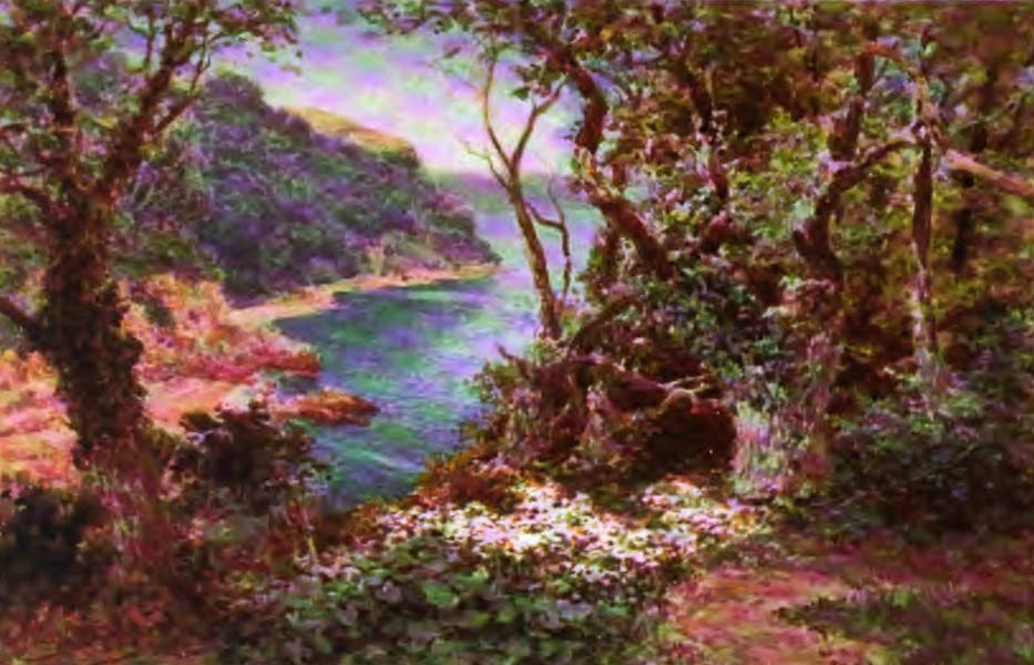 The Channel Islands Painted and Described - Belcroute Bay, Jersey (1904)