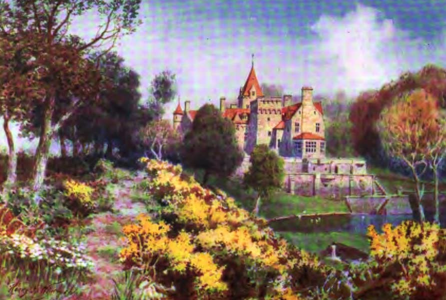 The Channel Islands Painted and Described - St Ouen Manor, Jersey (1904)