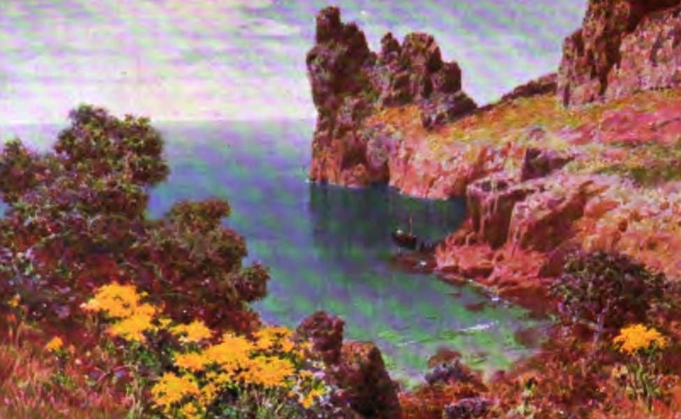 The Channel Islands Painted and Described - Beau Port, Jersey (1904)