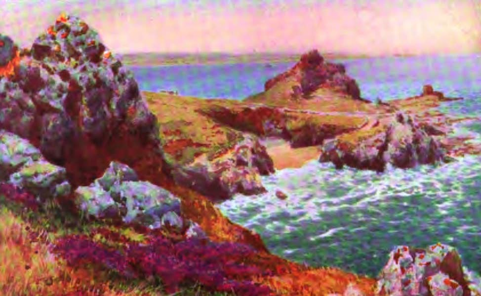 The Channel Islands Painted and Described - L'Etac. Jersey (1904)