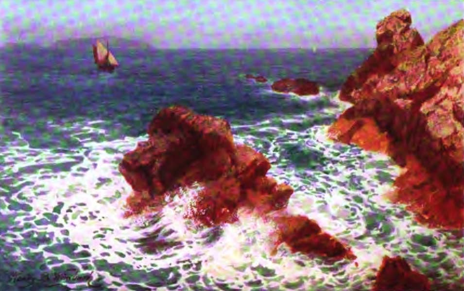 The Channel Islands Painted and Described - Trinity Manor, Jersey (1904)