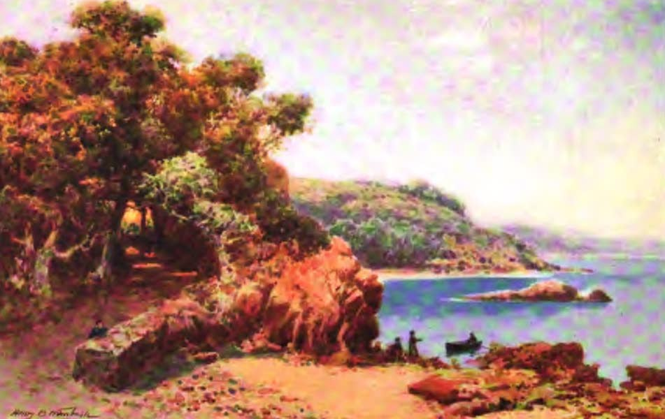 The Channel Islands Painted and Described - Le Fret Point, Jersey (1904)