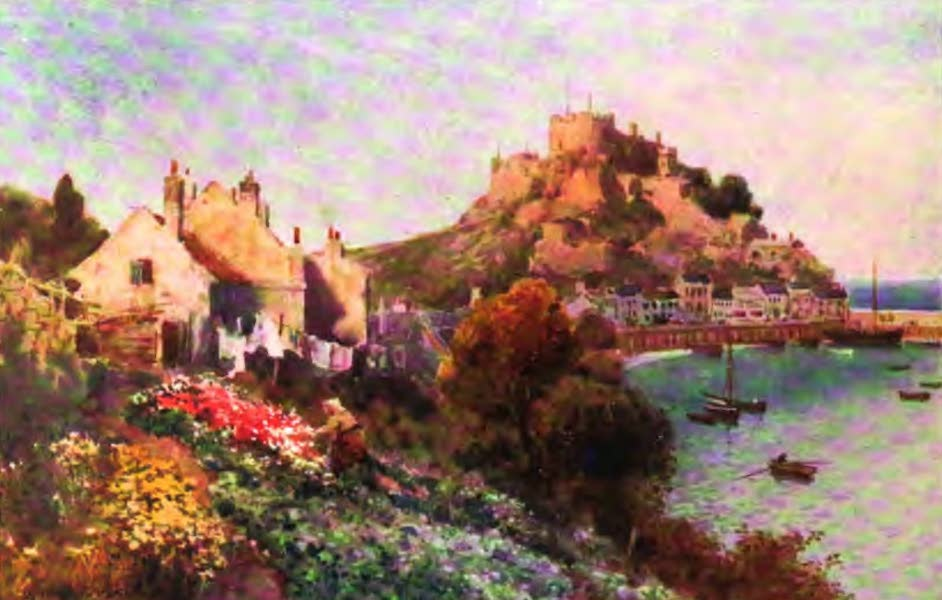 The Channel Islands Painted and Described - By the Sandy Shore, Jersey (1904)