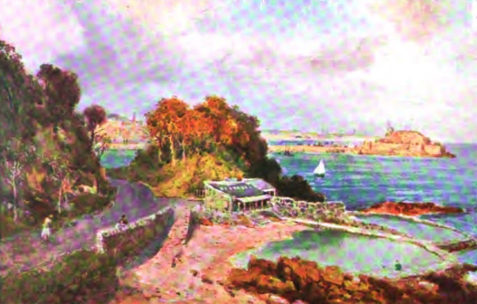 The Channel Islands Painted and Described - Mont Orgueil Castle, Jersey (1904)