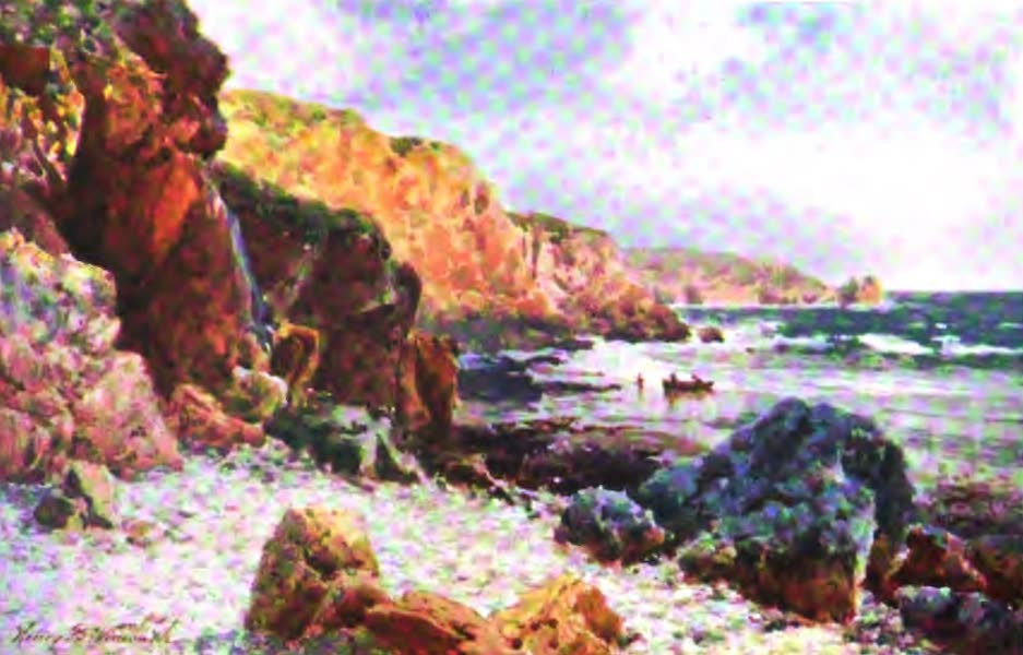 The Channel Islands Painted and Described - Wishing Well, Forest Parish, Guernsey (1904)