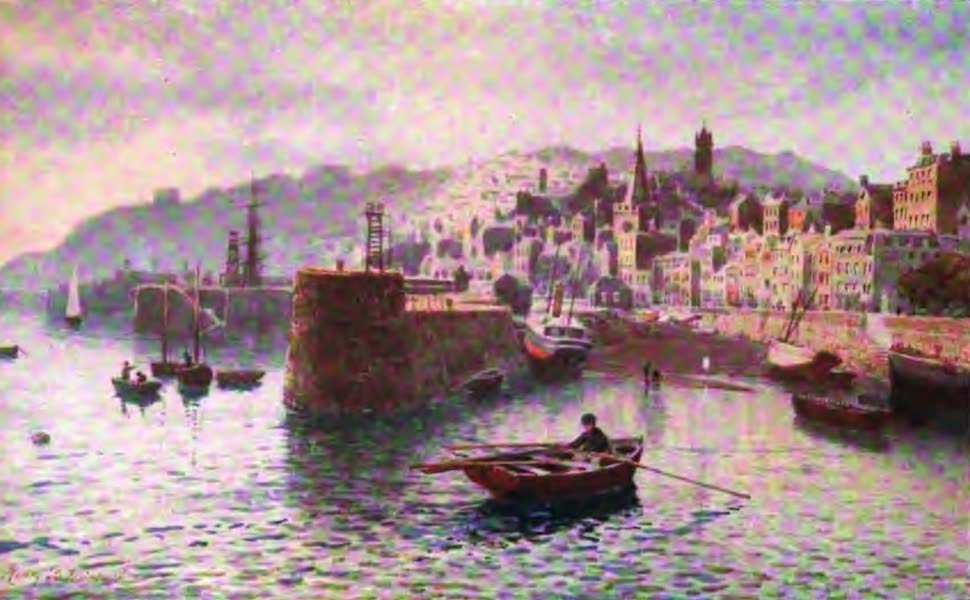 The Channel Islands Painted and Described - Berthelot Street, St. Peter-Port, Guernsey (1904)
