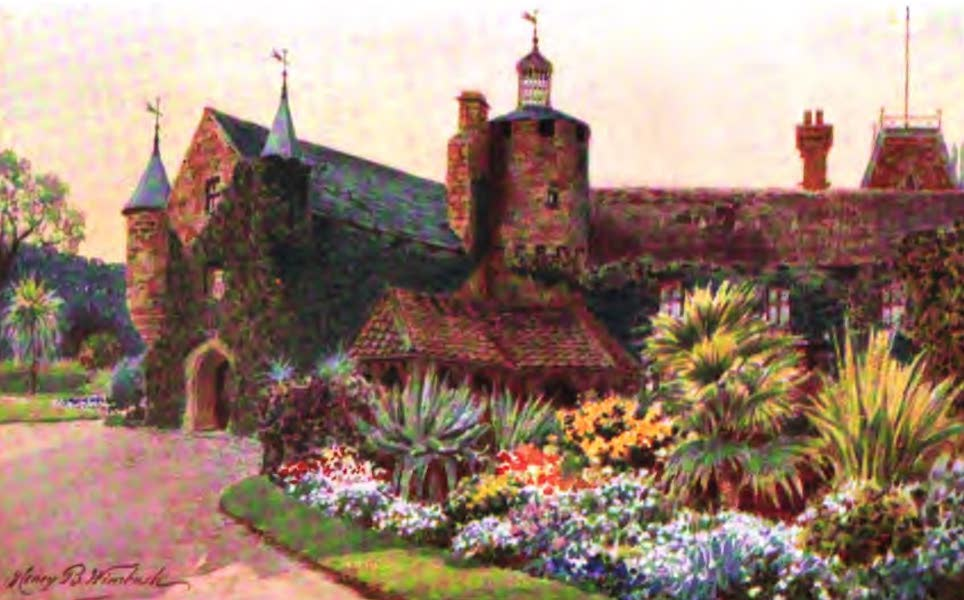 The Channel Islands Painted and Described - St. Sampson's Church, Guernsey (1904)
