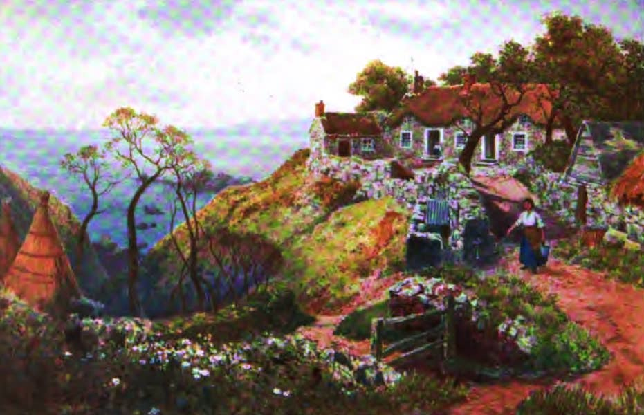 The Channel Islands Painted and Described - The West Coast of Sark (1904)