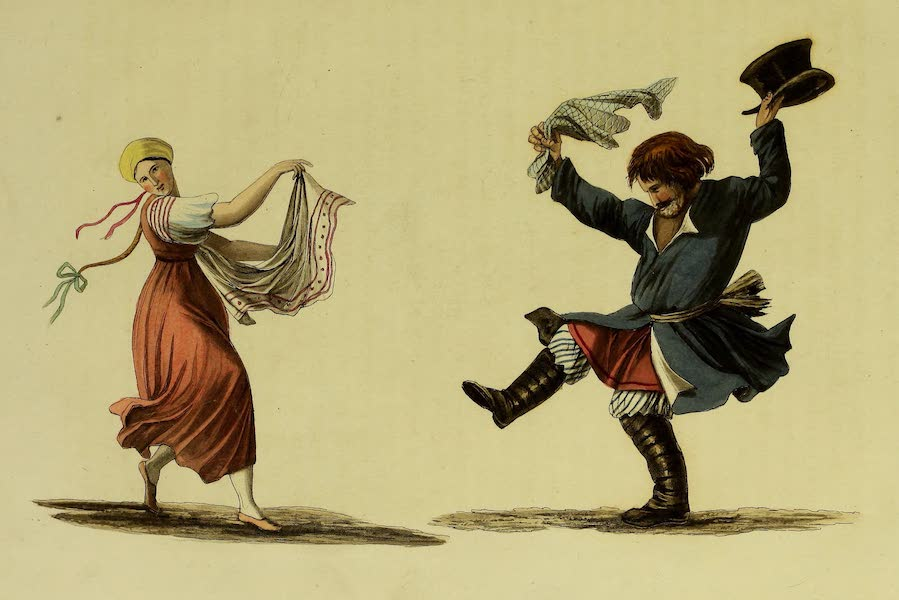 The Character of the Russians and a Detailed History of Moscow - The Common Dance of the Russian Peasants (1823)
