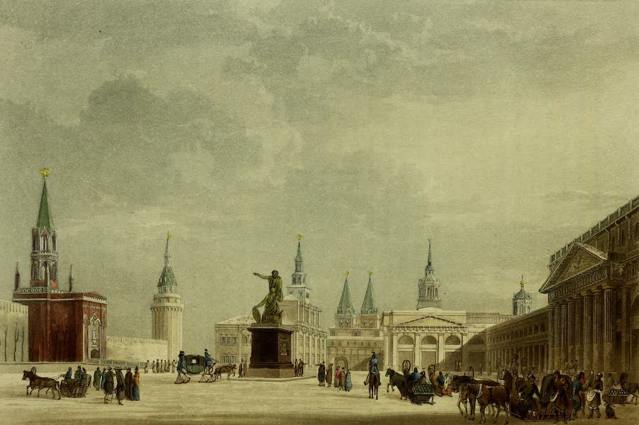 The Character of the Russians and a Detailed History of Moscow - North-Half of the Beautiful Place (1823)