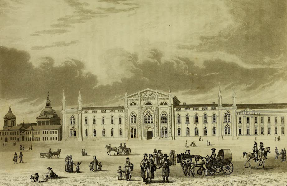 The Character of the Russians and a Detailed History of Moscow - The Printing Office of the Holy Synod (1823)