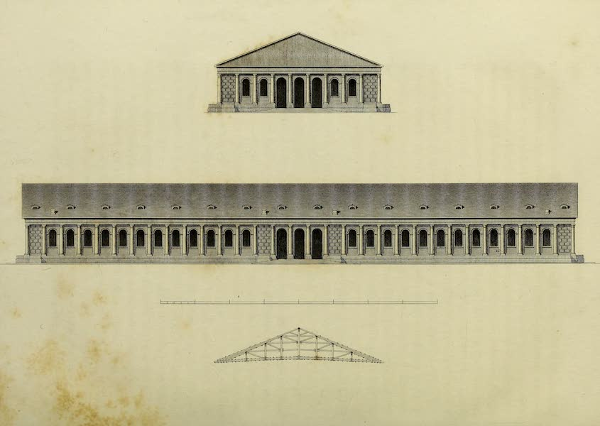 The Character of the Russians and a Detailed History of Moscow - The Exercise House (1823)