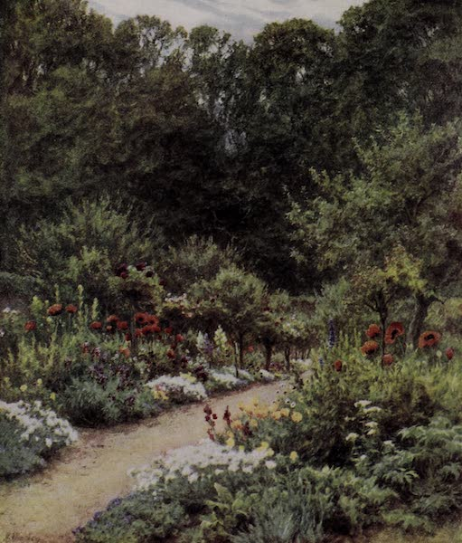 The Charm of Gardens - A Walled Garden (1910)