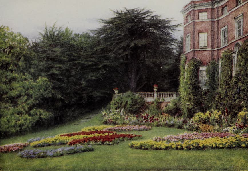 The Charm of Gardens - A Sheltered Garden (1910)
